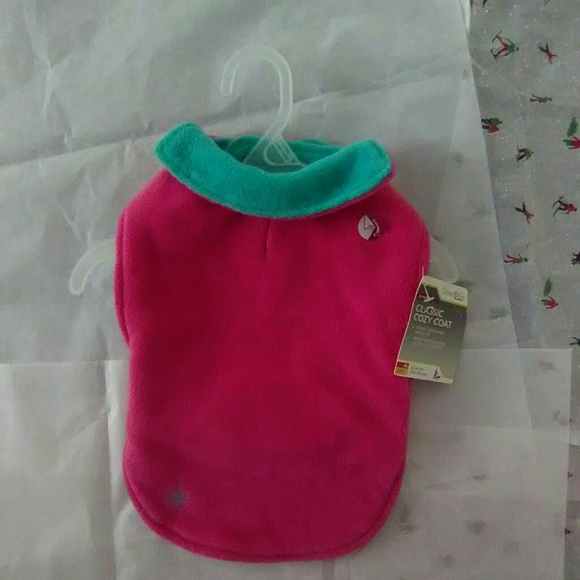 Good2Go Other - Classic Cozy Coat For Dogs  Reversible Pink/Teal